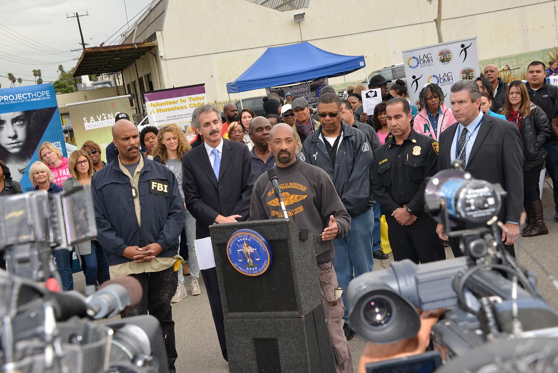 LAPD Detective Cedric Washington Discusses the Community Impact Initiative
