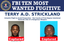 Top Ten Fugitive Terry A.D. Strickland Captured