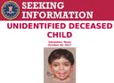 FBI, Galveston Police Announce Up to $10,000 Reward in Case of Boy Found on Beach