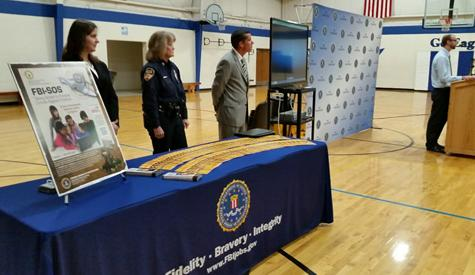On Thursday, November 12, 2015, Martin Luther School (MLS) in Oshkosh, Wisconsin was presented with the FBI-Safe Online Surfing (FBI-SOS) Internet Challenges national award.