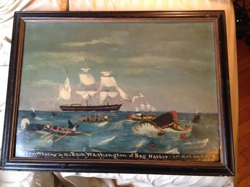 On September 29, 2015, FBI New Yorks Art Crime Team returned the Bark Washington painting to the Oysterponds Historical Society in Orient, New York, after it was stolen more than 14 years ago.