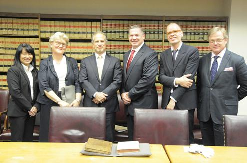 Richard Zabel, the Deputy United States Attorney for the Southern District of New York, and Diego Rodriguez, Assistant Director-in-Charge of the New York Field Office of the Federal Bureau of Investigation (), announced today the return of two antique books that were stolen from the National Library of Sweden in the 1990s.