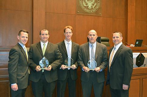 FBI Agents Honored at U.S. Attorney Awards — FBI
