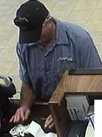 The FBI and Escondido Police Department are seeking the public's assistance to identify the unknown male responsible for robbing the Bank of America branch in Escondido.