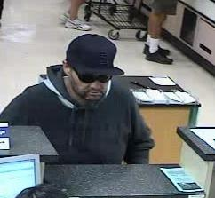 The FBI and Escondido Police Department are seeking assistance to identify the unknown male responsible for robbing the U.S. Bank located inside the Albertsons grocery store.