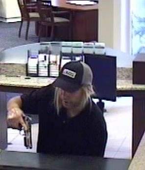 The FBI and San Diego County Sheriffs seek assistance to identify an unknown male who robbed the California Bank and Trust branch located in Vista, California.
