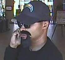 The FBI and San Diego Police Department are releasing bank surveillance video of the individual responsible for robbing the Mission Federal Credit Union.