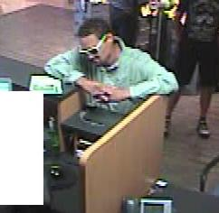 The FBI and San Diego Police Department are seeking assistance to identify the unknown male responsible for robbing the U.S. Bank located inside the Vons grocery store.