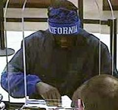 The FBI and the San Diego Police Department are seeking the public's assistance to identify the unknown male responsible for robbing the Chase Bank branch.