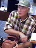 The FBI is seeking information on the identity and whereabouts of a bank robber nicknamed the Satchel Bandit.