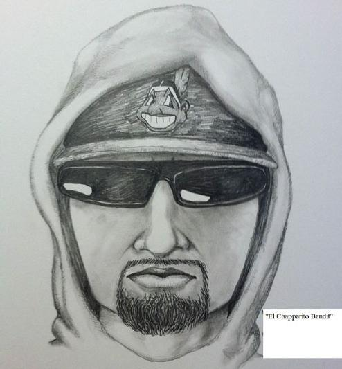 Since November 2013, banks in the San Diego region have been victimized by a serial bank robber known as the El Chapparito Bandit.