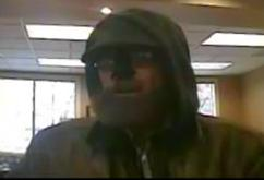 The Seattle Safe Streets Task Force is seeking information about a bank robber nicknamed Beardo.