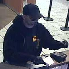 The Seattle Safe Streets Task Force is seeking information about a bank robber nicknamed the Rent Money Bandit.