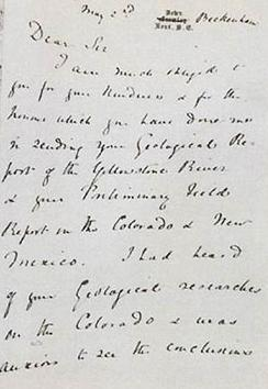 Special agents from the FBI returned a recovered Charles Darwin letter to the Smithsonian Institution Archives, the FBI Washington Field Office announced.