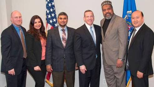 WFO is pleased to announce the All Dulles Area Muslim Society (ADAMS) Center as a recipient of the 2015 Director's Community Leadership Award (DCLA).