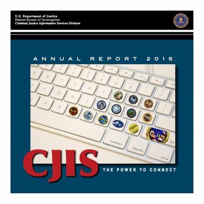 2015 CJIS Annual Report
