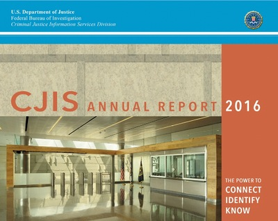 2016 CJIS Annual Report