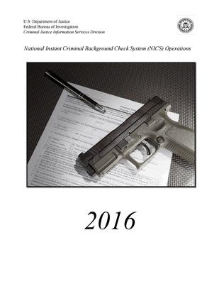 2016 NICS Operations Report