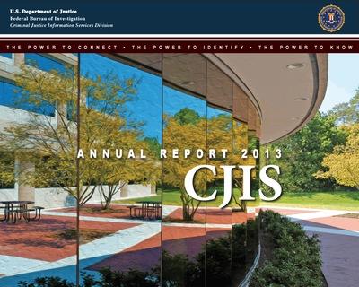 2013 CJIS Annual Report