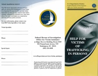 Help for Victims of Trafficking Brochure