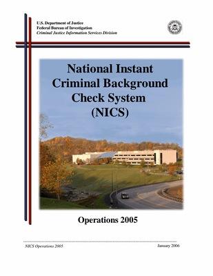 2005 NICS Operations Report
