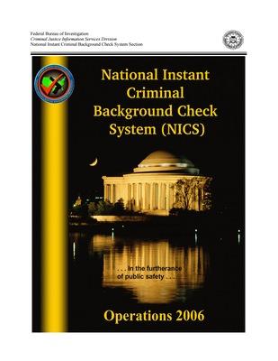2006 NICS Operations Report