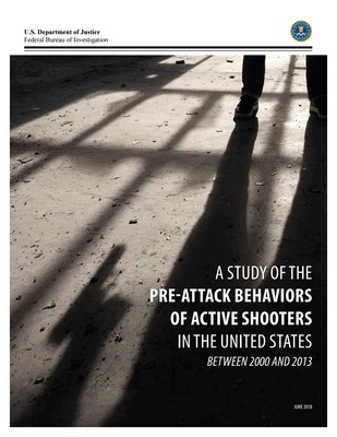FBI Releases Study of Pre-Attack Behaviors of Active Shooters