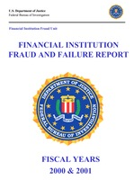 Financial Institution Fraud/Failure Report - 2000-2001 (pdf)