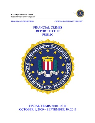 Financial Crimes Report 2010-2011