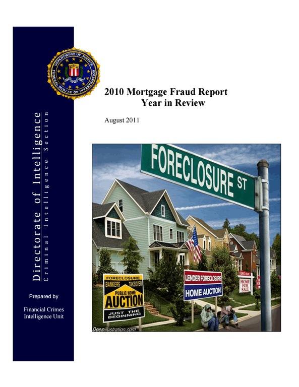 Mortgage Fraud Report 2010