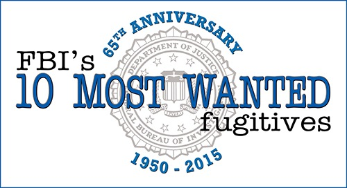 FBI's Top Ten 65th Anniversary Logo