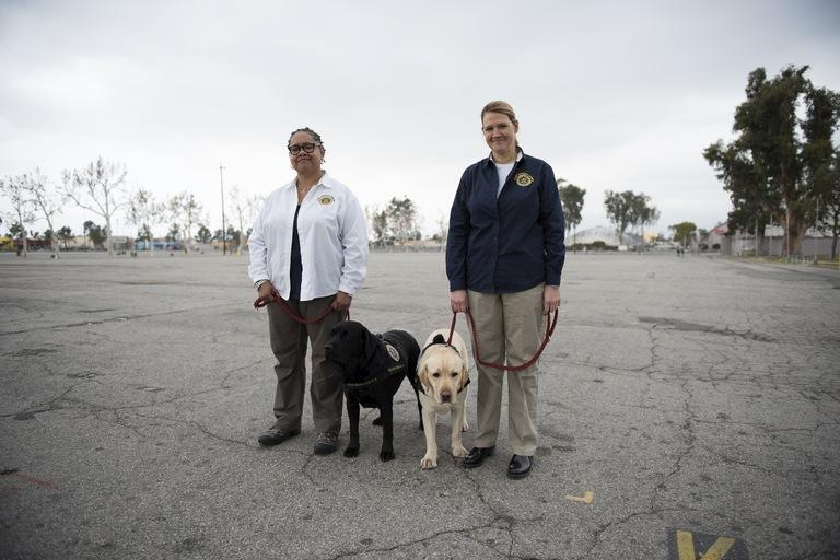 FBI Crisis Response Canine Handlers