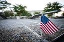 U.S. Flag at Pentagon 9/11 Memorial