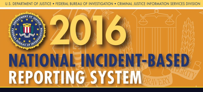 Graphic from the 2016 National Incident-Based Reporting System (NIBRS) report.