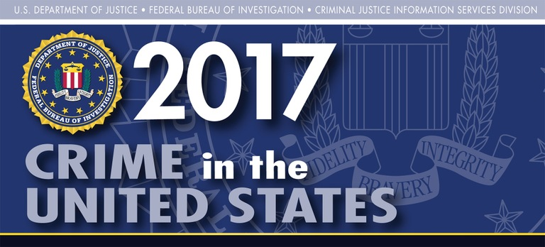 Graphic from the 2017 Uniform Crime Reporting Program's Crime in the United States Report.