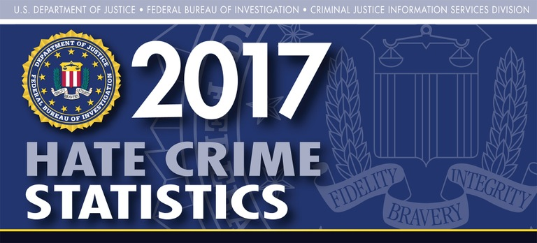 Graphic from the 2017 Hate Crime Statistics report.