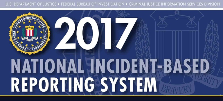 Graphic from the 2017 National Incident-Based Reporting System (NIBRS) report.