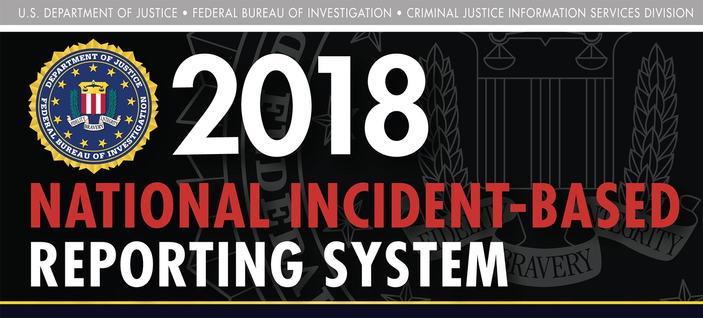 Graphic from the 2018 National Incident-Based Reporting System (NIBRS) report.