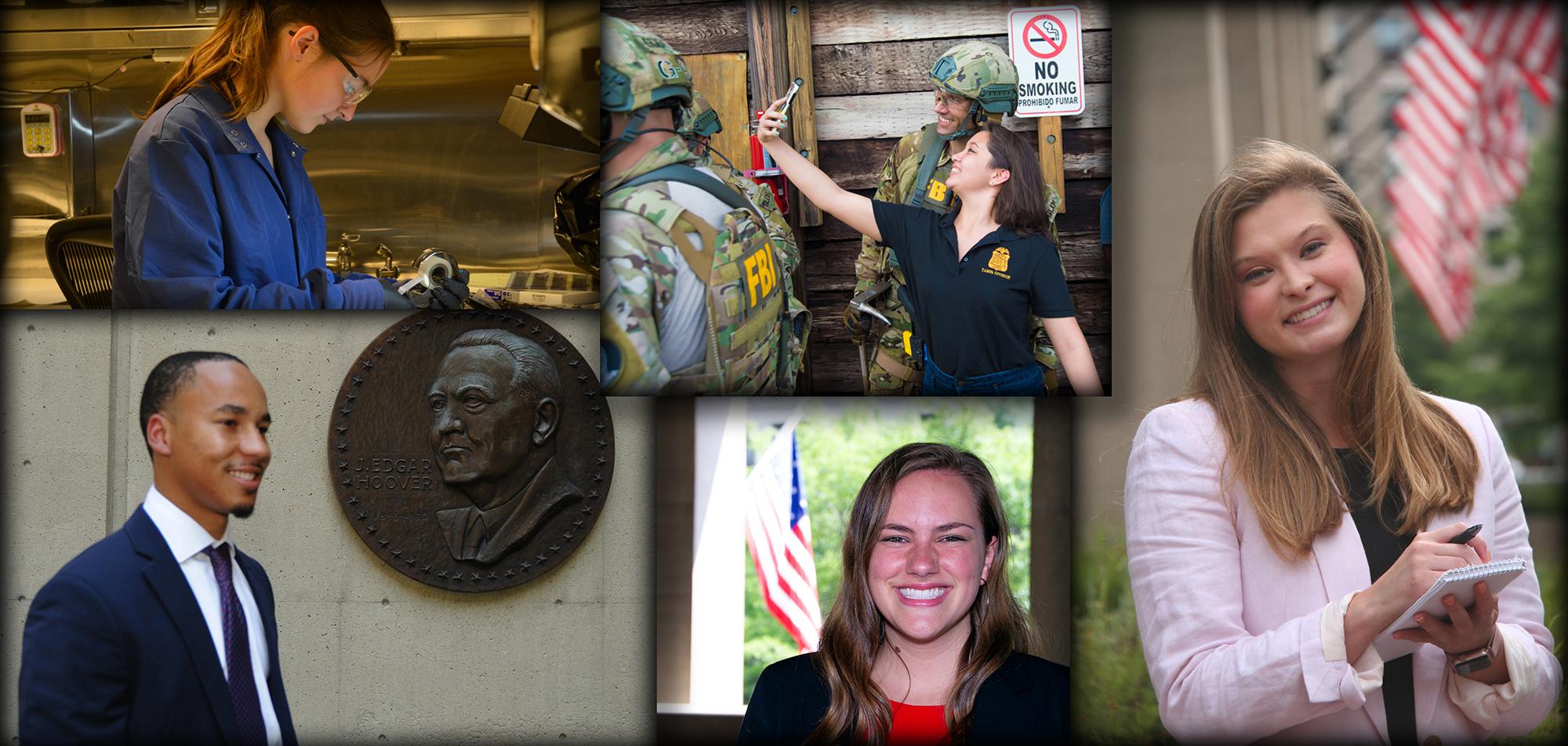 2019 FBI Honors Internship Collage