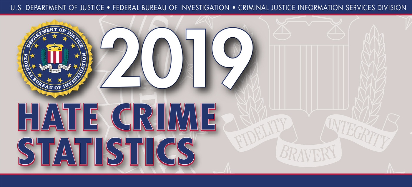 Graphic from the 2019 Hate Crime Statistics report.