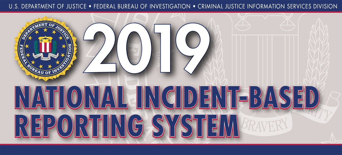Graphic from the 2019 National Incident-Based Reporting System (NIBRS) report.