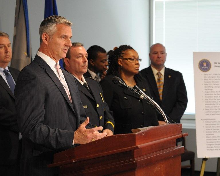 Atlanta SAC J. Britt Johnson and Partner Agency Officials
