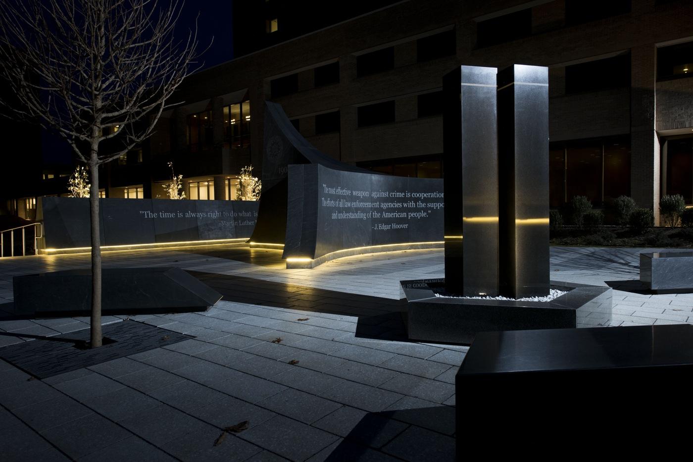Reflection Garden and 9/11 Memorial at Quantico
