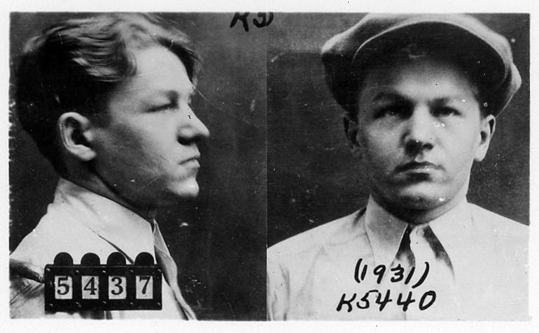 Little Bohemia Gunfight: Mug Shots of Baby Face Nelson