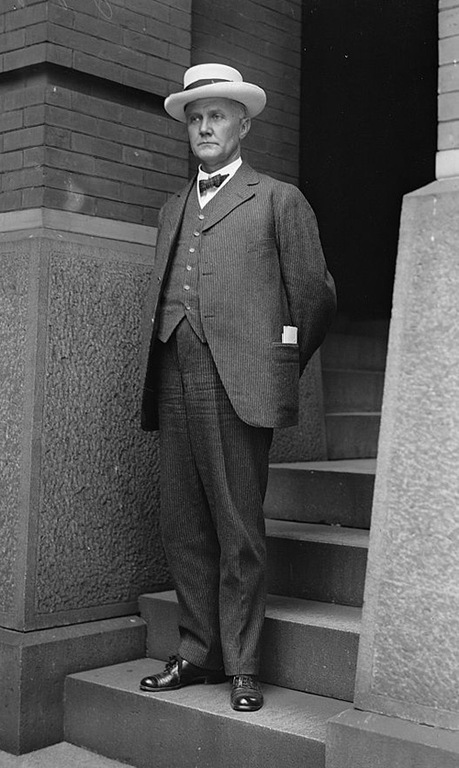 U.S. Attorney General Thomas Gregory, shown in this 1917 photo, served from 1914-1919. Photo courtesy of the Library of Congress.