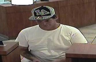 Albuquerque bank robbery suspect James Patrick Verdream (4/25/14)