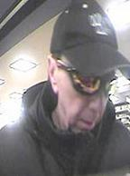 Anchorage Bank Robbery Suspect, Photo 4 of 5 (4/15/14)