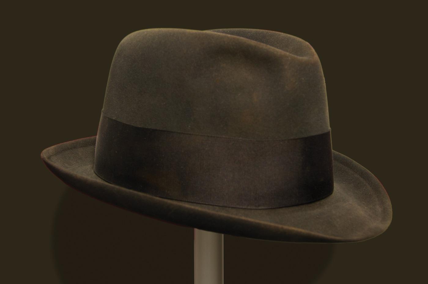 Photo of FBI Director J. Edgar Hoover's fedora.