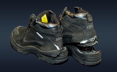December 2020: Richard Reid's Shoes