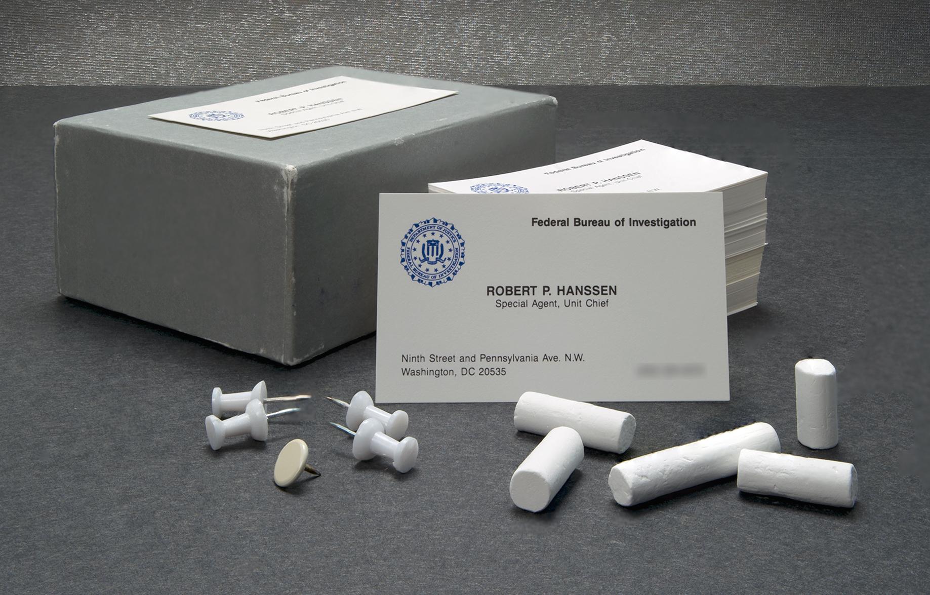 Hanssen's Business Cards